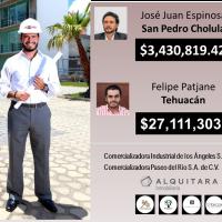 Contratista de JJ, Favián Enrique García Villegas, responsable del saqueo en Tehuacán revela investigación y auditorías.