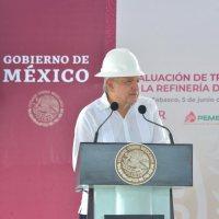 Refinería Dos Bocas garantizará independencia energética al país, afirma presidente